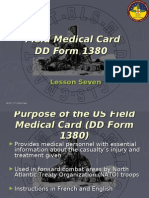 Chapter 7&8 - Field Medical Care and MEDEVAC Request