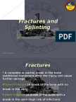 Fractures and Splinting