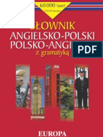 Słownik angielsko-polski polsko-angielski z gramatyką - ebook