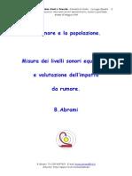 1996 Abrami Cnr Mi - Il Rumore e La Popolazione