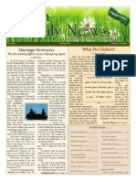 Faith And Family News Spring 2014