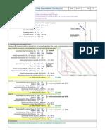 Calculation 2.5m Foundation Stabilit