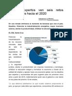 Seis Retos Económicos Hacia El 2020