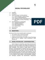 Handouts Social Psy