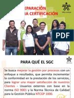 Requisitos SGC