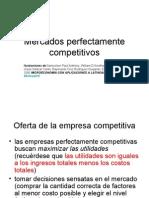 Mercados Perfectamente Competitivos