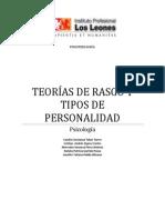 Teorias de Rasgo y Tipo de Personalidad Informe
