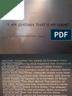 Exposição -- A Bíblia e Nome Divino