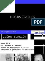 Conf. 9 Metodologia de Focus Groups