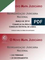 Mapa Judiciário - Lisboa