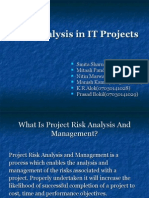 Risk Analysis in IT