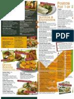 Don Juan menu
