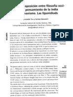 Fernando Tola & Carmen Dragonetti   El mito de la oposición entre filosofía occidental y pensamiento de la India