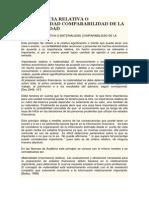 1-Importancia Relativa o Materialidad Comparabilidad de La Contabilidad