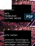Arte Tecnologia Cultura Hacker