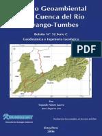 Estudio Geoambiental de La Cuenca Del Río Puyango-tumbes%2c 2006