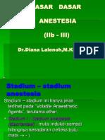 Kuliah Dasar Anestesi