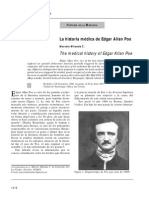 La Historia Médica de Edgar Allan Poe