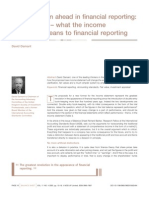 revolution ahead in financial reporting
