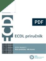 ECDL Modul ECDL Modul 5 - Baze podataka5 - Baze Podataka - Demo
