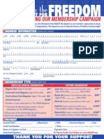 NAACP Membership Form
