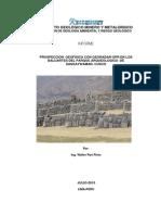 A6537 Prospección Geofisica Parque Arqueológico Saqsaywaman