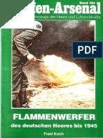 Waffen Arsenal - Band 154 - Flammenwerfer des deutsches Heeres bis 1945