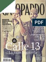 Entrevista a Alejandro Jodorowsky - Revista GatoPardo - Octubre 2010