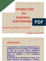 (308535893) Perforacion en Mineria Subterranea