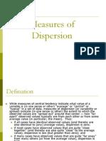 0actual Dispersion
