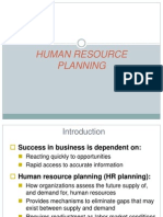 Hrm-human Resource Planning
