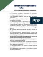 Comiserge - Diagramas de Operaciones