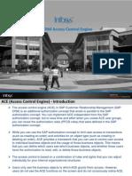 SAP CRM Access Control Engine