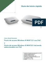 Cisco Small Business WAP_121_321
