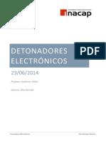 Detonadores Electrónicos Gino Paredes