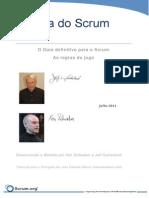 Scrum Guide 2011 PTBR