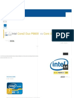 Intel Core2 Duo P8600 vs Core i3 3220