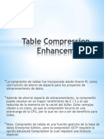 Table Compression Enhancements