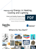 3 Reducing Energy Heating Cooling Lighting 2 Slides