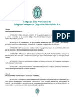 Codigo de Etica COLTOChile