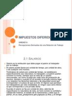 Cp Muñoz Unidad II Percep. Derivadas Relacion Laboral