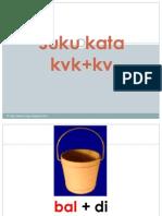 12.Suku kata kvk+kv
