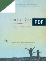 Rare Bird by Anna Whiston-Donaldson