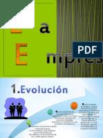 La Empresa - Diapositivas
