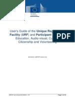 Erasmus+ URF manual