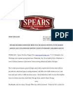 Spears Bourbon Burgers Beer Grand Opening News Release (1)