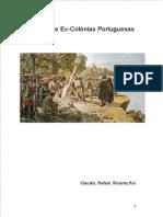 Lusofonia e Ex-Colónias Portuguesas_trabalho TC