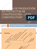 Gestion Lean Construction Graña