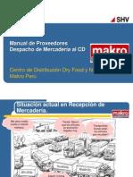 MAKRO - Manual de Proveedores - DeSPACHO Al CD - Vs5