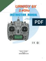 Turnigy 9X - Manual Instrução Portugues